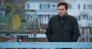 Casey Affleck in Manchester By The Sea: he has been nominated for an Oscar for best actor in a leading role. Photograph: Claire Folger/Roadside Attractions and Amazon Studios via AP
