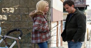 Michelle Williams and Casey Affleck, both Oscar nominted for Manchester by the Sea.