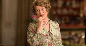 Meryl Streep, Oscar nominated for Florence Foster Jenkins.