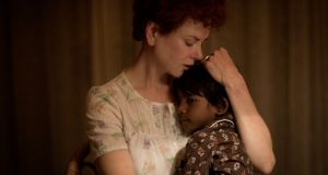Nicole Kidman, Oscar nominated for Lion, which is also up for Best Picture.