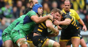 Thomas Young: flanker  has been in great form for Wasps. Photograph: James Crombie/Inpho