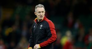 Rob Howley: won the Six Nations last time he stepped in for Warren Gatland. Photograph: Cathal Noonan/Inpho