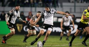 Zebre's Carlo Canna:  likely to start at outhalf for Italy. Photograph: Giuseppe Fama/Inpho