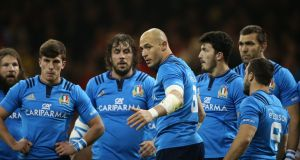 Sergio Parisse: one of the all-time greats of world rugby. Photograph: Cathal Noonan /Inpho