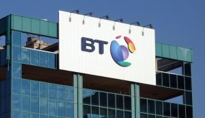 BT shares fell as the telecoms giant warned on profits  after accounting irregularities at its Italian division. Photograph: Stefano Rellandini/Reuters