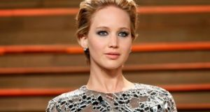 Actor Jennifer Lawrence. File photograph: Danny Moloshok/Reuters