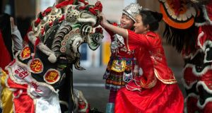 Chinese New Year Festival  in Dublin: Even with the minimal genetic variation across humans, increased genetic diversity maximises our collective fitness. Photograph: Dara Mac Dónaill