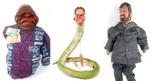 Puppets of Nelson Mandela, Peter Mandelson and Gerry Adams sold at Whyte's auction for a combined total of €2,150