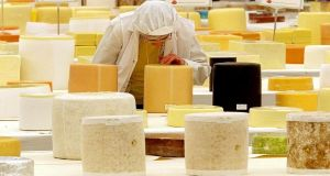 Ornua has bought a cheese plant in Cheshire, and a number of other Irish food producers may set up plants or buy up companies in the UK. Photograph: Phil Noble/PA