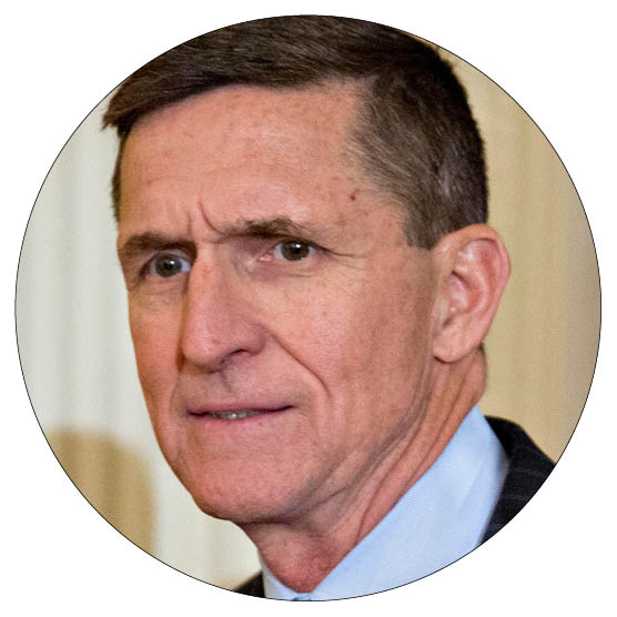 Mike Flynn: Trump's Inner Circle: The Men And Women Running The US