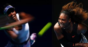 Venus and Serena Williams will play each other in the Australian Open women's final on Saturday. Photograph: Clive Brunskill/Getty Images