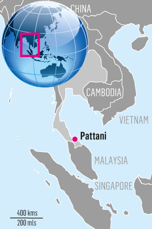 Pattani Thailand Map.Southern Thailand S Separatist Violence Shows No Signs Of Ending