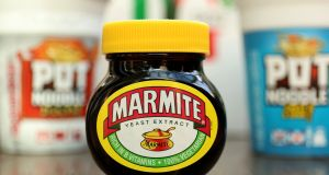 Unilever: the maker of Marmite spread,  Dove soap and  Knorr soup blamed  a weak economy in Brazil for lower-than-expected fourth-quarter sales. Photograph: Chris Radburn/PA Wire