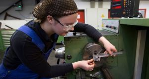 The number of people in the Republic taking on apprenticeships plummeted during the recession, falling from about 29,000 to just over 5,700 in 2013. File photograph: Getty Images