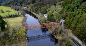 Farmleigh Bridge. Photograph: Rebuild Silver Bridge group