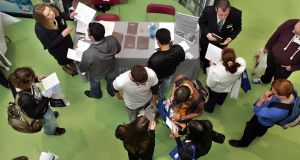 The #FYI careers advisory event organised by GradIreland will show first year students exactly what is involved in particular jobs. File photograph: Matt Kavanagh/The Irish Times