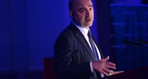 "Pierre Moscovici, EU Commissioner for Economic and Financial Affairs, Taxation and Customs: ""While Ireland has not always played fair in the past it has done impressive work to tackle tax avoidance and support the agenda for fairer taxation."" Photograph: Dara Mac Dónaill"