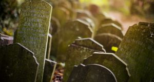 Cemeteries were hunting grounds for bodysnatchers in the 18th and 19th centuries. Photograph: Barry Lewis/Getty Images