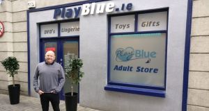 "Richie Cullen outside his PlayBlue.ie adult shop in Kilkenny: ""We put a margin on a product and we don't look for more than that. We offer the best prices and best service to our customers."""