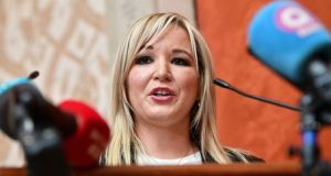 It emerged in newspaper reports on Friday that the Department of Agriculture, when headed up by Michelle O'Neill (above), had organised scores of workshops for farmers interested in the Renewable Heat Incentive  scheme and highlighted its financial benefits. File photograph: Getty Images