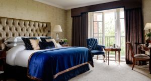 The newly-refurbished Pembroke suite at the Intercontinental Hotel has antique furniture, fine art and luxurious fabrics.