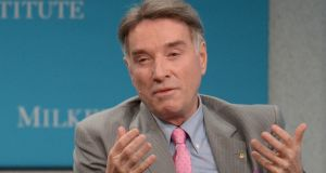 Eike Batista, who has reportedly left his native Brazil, where he faces corruption charges. Photograph: Frederic J Brown/AFP/Getty Images