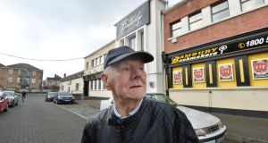 Jimmy O'Toole  at the site of the former Stardust dance hall in Artane. He saw flames coming from the  Stardust roof at 1.38am from his bedroom window. Photograph: Alan Betson