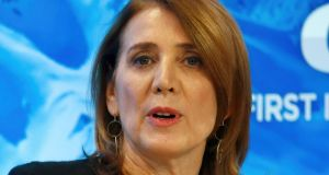 Alphabet CFO Ruth Porat: sees potential in the development of non-advertising revenue streams for YouTube. Photograph: Ruben Sprich/Reuters