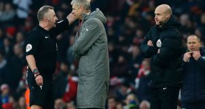 The Football Association has announced that Arsenal manager Arsene Wenger will serve a four-match touchline ban. Photo: Getty Images