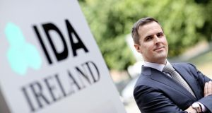 Martin Shanahan: said 45 Australian companies had already invested in Ireland, creating a combined 3,000-plus jobs. Photograph: Maxwells
