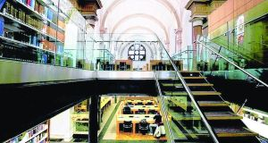 Library at UCD Smurfit School. Graduates of the MBA see average salaries rise by 71 per cent within three years