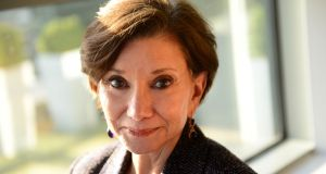 Advisor to the Trump transition team  Dr Jan Halper-Hayes: 'Only 4 per cent of Washington DC voted for Trump . . . this is a hostile takeover.' Photograph: Dara Mac Dónaill