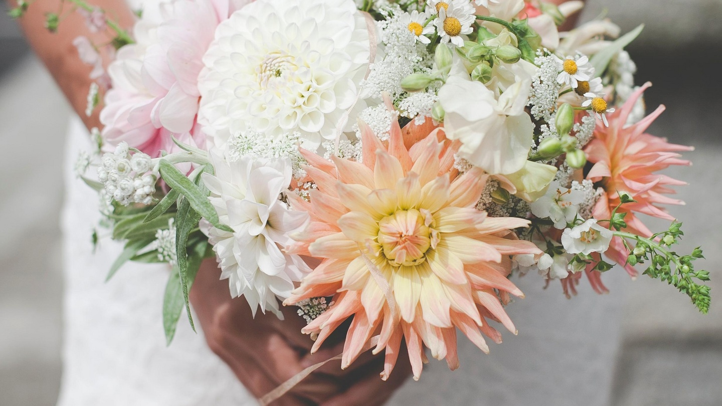 Grow Your Own Wedding Bouquet