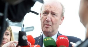 Minister for Transport Shane Ross said 'no one could expect any Irish Government Minister to approve' of  US president Donald Trump's policy. Photograph: Eric Luke