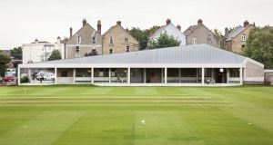 Merrion Cricket Pavilion by Taka Architects. Photograph:  Alice Clancy