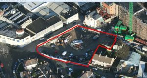 The Mill Street site extends to 0.57 of an acre and is located 1 km west of St Stephen's Green.
