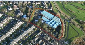 The largest development site going for sale is located at Haydens Lane in Lucan, less than 2 km from Adamstown train station.