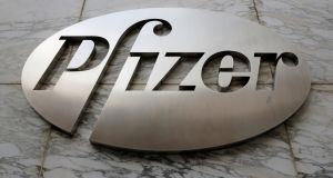 Some of Pfizer's biggest products performed poorly in the fourth quarter, as the vaccine Prevnar and  Viagra fell short of sales expectations. Photograph: Andrew Kelly/Reuters