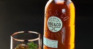 Roe & Coe whiskey, Diageo's new product.
