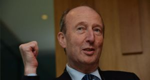 Minister for Transport Shane Ross has objected to Taoiseach Enda Kenny travelling to Washington to meet US President Donald Trump for St Patrick's Day. Photograph: Alan Betson/The Irish Times.