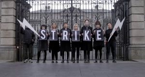 Strike 4 Repeal: a video promoting the the campaign, inspired by action taken by women in Poland, has been viewed more than 430,000 times