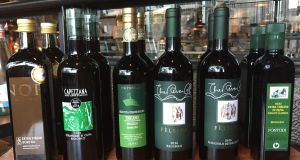 Drizzle it, don't pour it: the Liberty Wines  single estate olive oils sell for between €15.99 and €28.99 a bottle