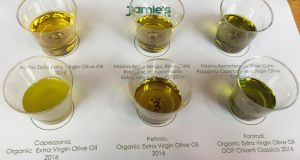 Green for go: six top Italian single estate olive oils ready for tasting