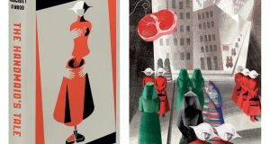 The Folio Society edition of The Handmaid's Tale by Margaret Atwood, illustrated by Anna and Elena Balbusso