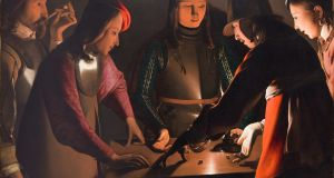 The Dice Players by Georges de La Tour, oil on canvas. Photograph: Simon Hill FRPS (courtesy of Preston Park Museum)