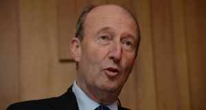 "Minister for Transport Shane Ross says it is a real problem that many drivers don't keep up with the rules of the road, ""and obviously don't understand them"". Photograph: Alan Betson"