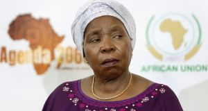 Nkosazana Dlamini-Zuma: some of her critics  believe she only took the job of chairwoman of the African Union Commission to enhance her profile back in South Africa. Photograph: Rajesh Jantilal/AFP/Getty Images