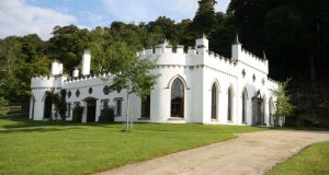 Luggala, Co Wicklow: it was offered officially for sale by the trustees of Barbican International Corporation, a Guernsey-based Guinness family trust