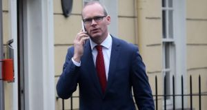 Fianna Fáil leader Micheál Martin said three whistleblowers warned the then minister for defence, Simon Coveney (above), in November 2015 about conditions at Baldonnel. Photograph: Gareth Chaney Collins