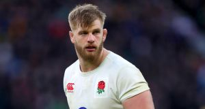 England lock George Kruis will see a specialist after suffering a knee ligament injury, the Rugby Football Union has announced. Photograph: David Davies/PA